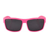 Ames Filthy Anglers Sunglass, Pink frame, Smoked Polarized Lenses