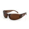 Fishing sunglasses - brown polarized lenses