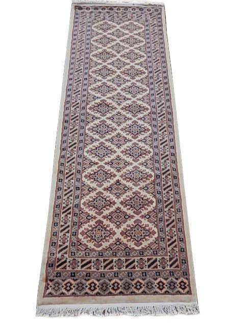 Luxurious 2x7 Authentic Hand Knotted Jaldar Bokhara Rug - Pakistan - bestrugplace
