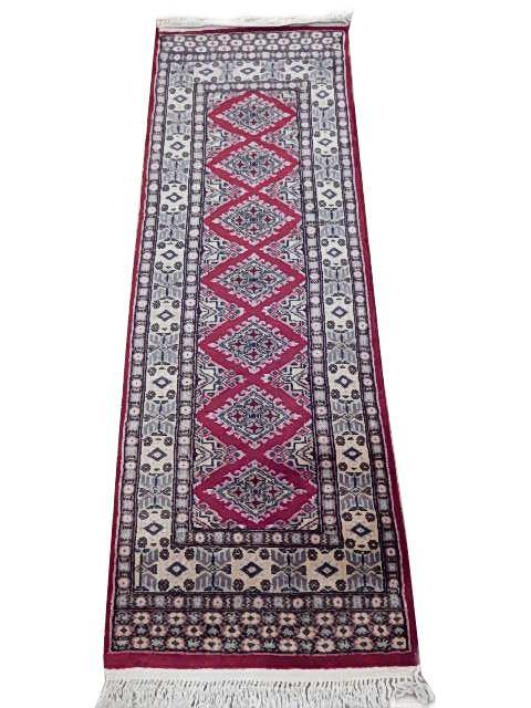 Radiant 2x6 Authentic Hand Knotted Jaldar Bokhara Rug - Pakistan - bestrugplace