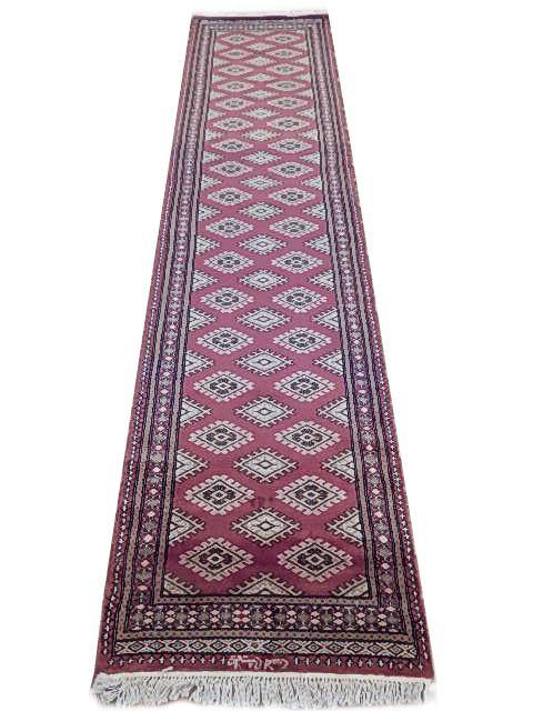 Radiant 3x10 Authentic Hand Knotted Jaldar Bokhara Rug - Pakistan - bestrugplace