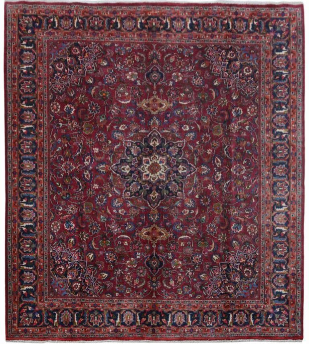 10' x 11' Authentic Hand-knotted Persian SIGNED Bijar Persian Rug - bestrugplace