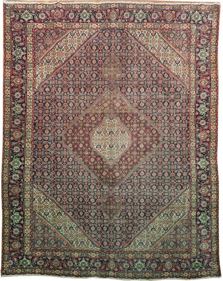 Luxurious 10x13 Authentic Handmade Ardebil Persian Rug-Iran - bestrugplace
