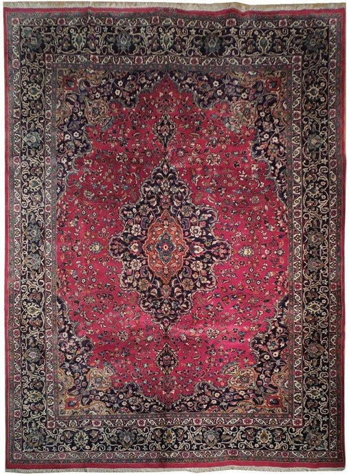 10x13 Authentic Handmade Signed Persian Rug - Iran - bestrugplace