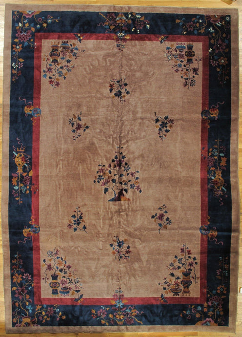 10x14 Antique Art Deco Rug - China 29087 - bestrugplace