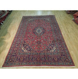6x10 Authentic Hand Knotted Semi-Antique Persian Kashan Rug - Iran