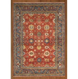 Harooni Rugs - Dazzling 10x14 Authentic Handmade Serapi Rug - India