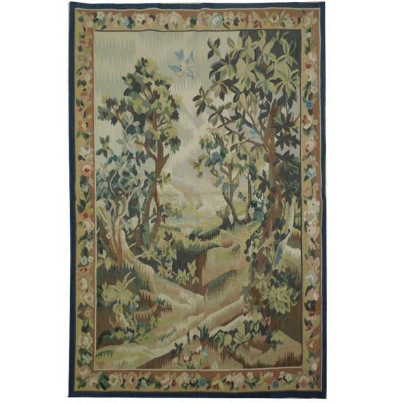 3x5 Authentic Handmade Tapestry Rug - China