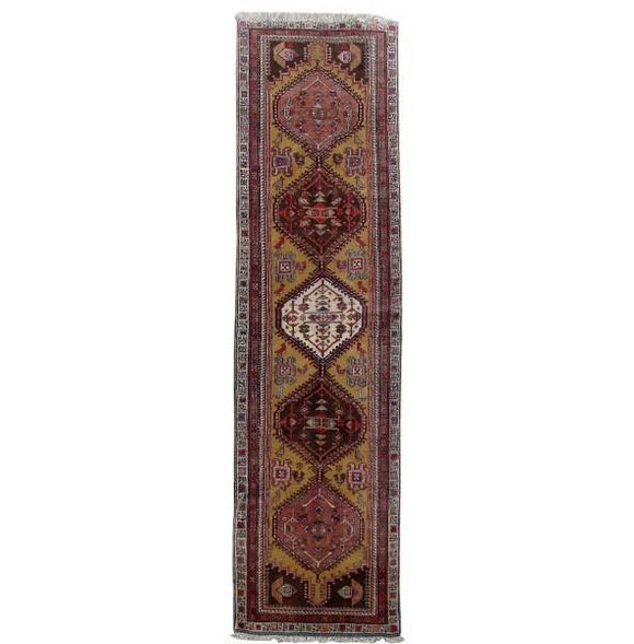 3x11 Authentic Hand Knotted Persian Ardebil Rug - Iran