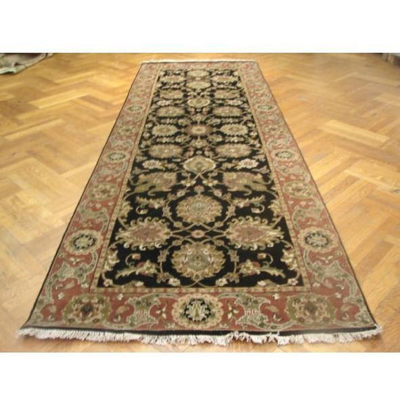 Fascinating 4x12 Authentic Handmade Agra Rug-India