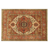 Harooni Rugs - Exotic 9x12 Authentic Hand-Knotted Serapi Rug - India