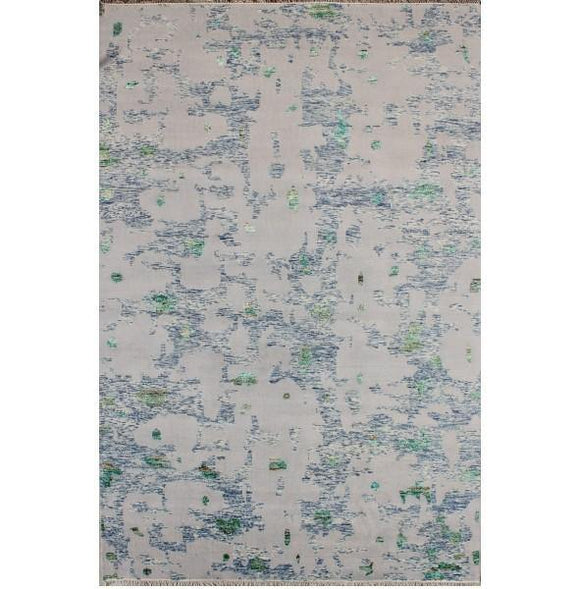12x18 Authentic Hand Knotted Modern Rug - India