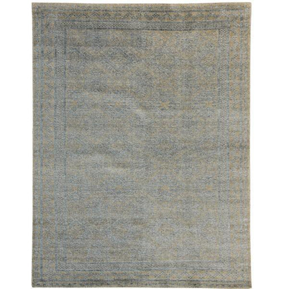 Harooni Rugs - Exotic 7x10 Authentic Hand Knotted Transitional Modern Rug - India