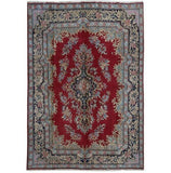 6x9 Authentic Hand-knotted Persian Kerman Rug - Iran