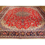 13x15 Authentic Hand-knotted Najaf Persian Isfahan Rug - Iran