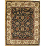 Harooni Rugs - Dazzling 8x10 Authentic Hand-Knotted Traditional Jaipur Rug - India