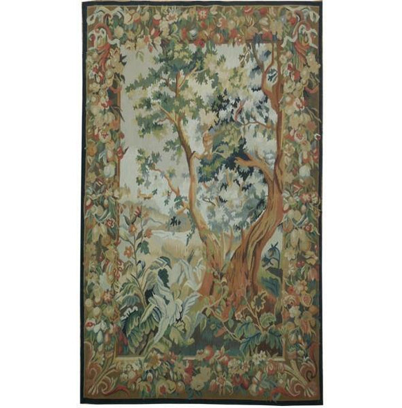 4x6 Authentic Handmade Tapestry Rug - China