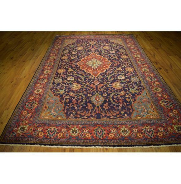 Fascinating 10x11 Authentic Hand-Knotted Rug