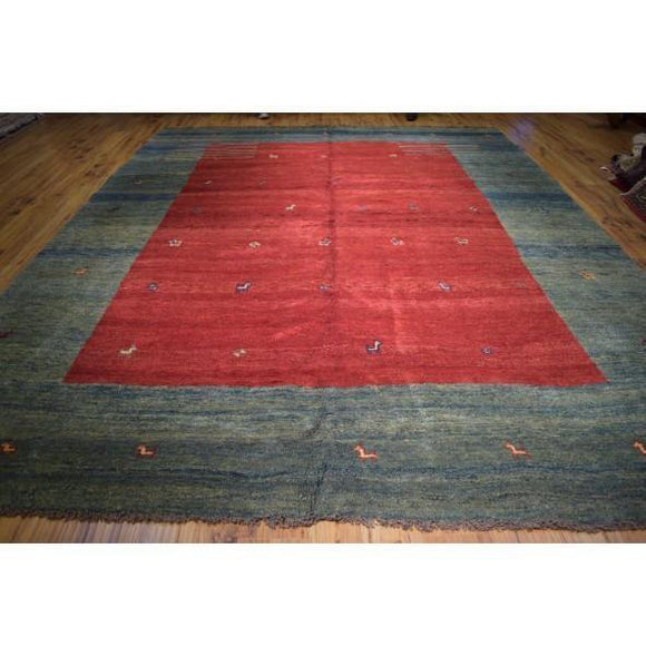 11x14 Authentic Hand Knotted Chinese Peking Art Deco Rug - China