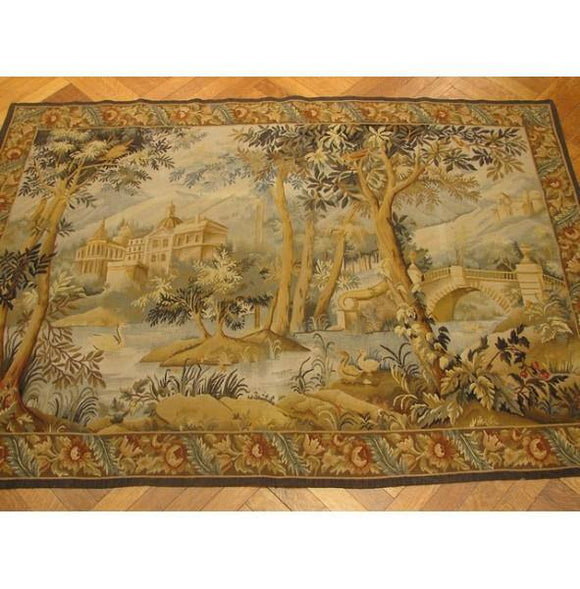 4x6 Authentic Handmade Tapestry Rug-KPSI 500-China
