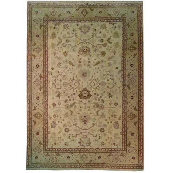 Harooni Rugs - Dazzling 10x14 Authentic Hand-Knotted Fine Jaipur Rug - India