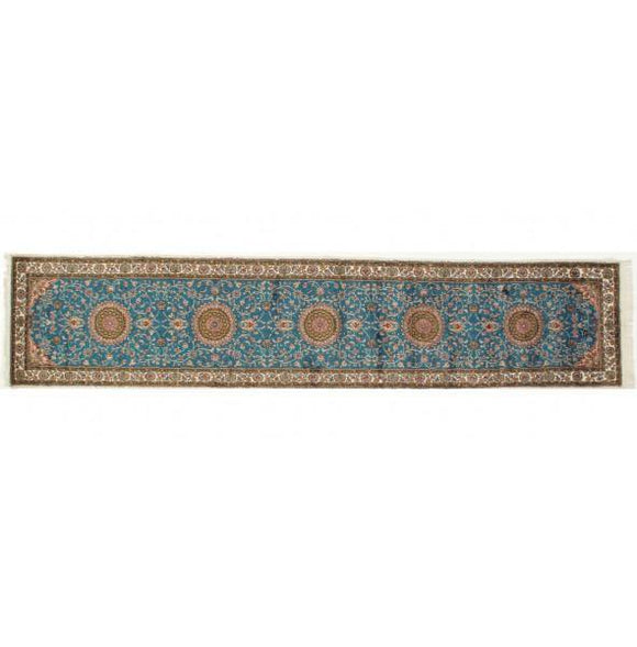 3x12 Authentic Hand-knotted Silk Runner - China