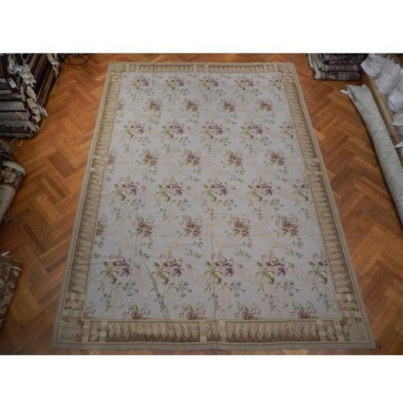 10x14 Authentic Handmade Double Knot French Rug - China