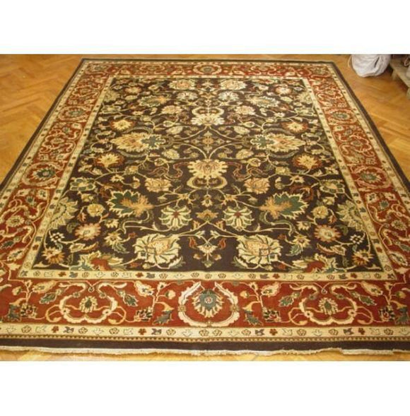 12x14 Authentic Hand-knotted Jaipur Rug - India