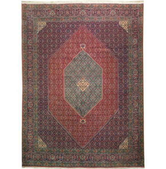10x13 Authentic Handmade High Quality Persian Bijar Rug-Iran