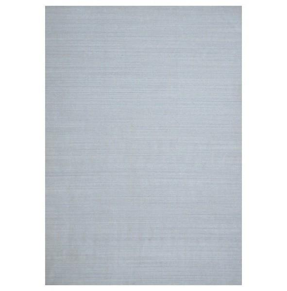 14x20 SOLID GRAY WOOL Contemporary Rug - India - bestrugplace
