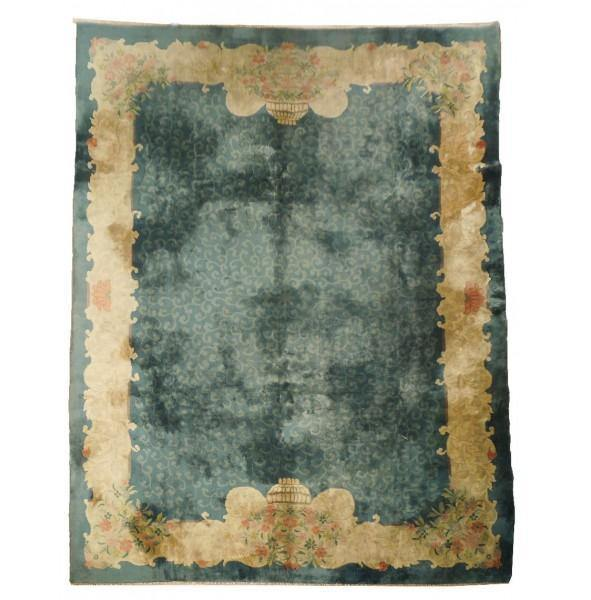 9x11 Semi-Antique Chinese Peking Rug - China - bestrugplace