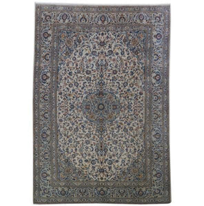 10x15 Authentic Hand-knotted Persian Signed Kashan Rug - Iran