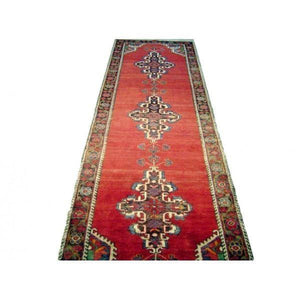 Harooni Rugs - Vintage 3x11 Authentic Handmade Persian Malayer Runner-Iran