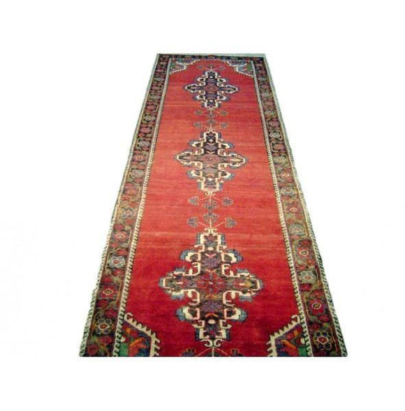 3x11 Authentic Handmade Persian Malayer Runner-Iran