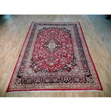 Harooni Rugs - Premium 7x9 Authentic Hand Knotted Semi-Antique Persian Kashan Rug - Iran