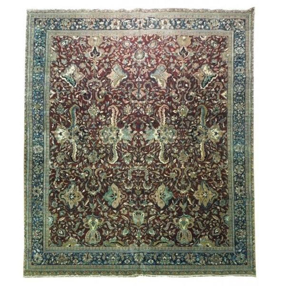 Luxurious 12x14 Authentic Handmade Persian Rug-Iran