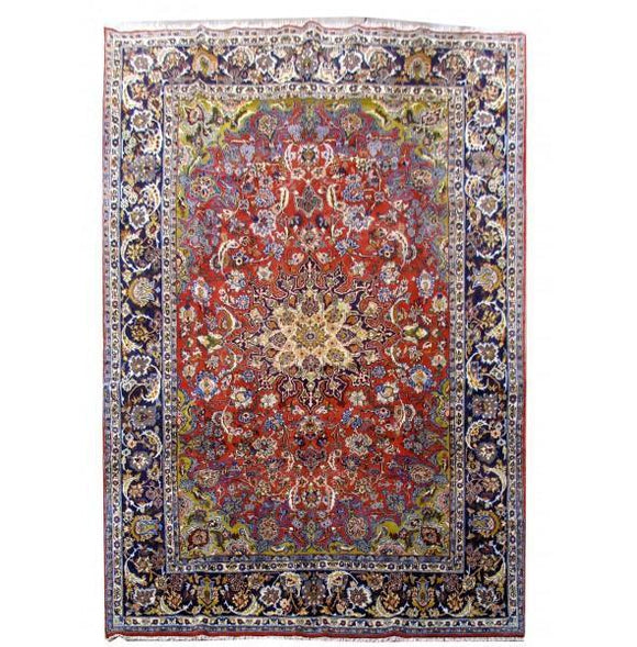 10x15 Authentic Hand Knotted Persian Bakhtiari Rug - Iran