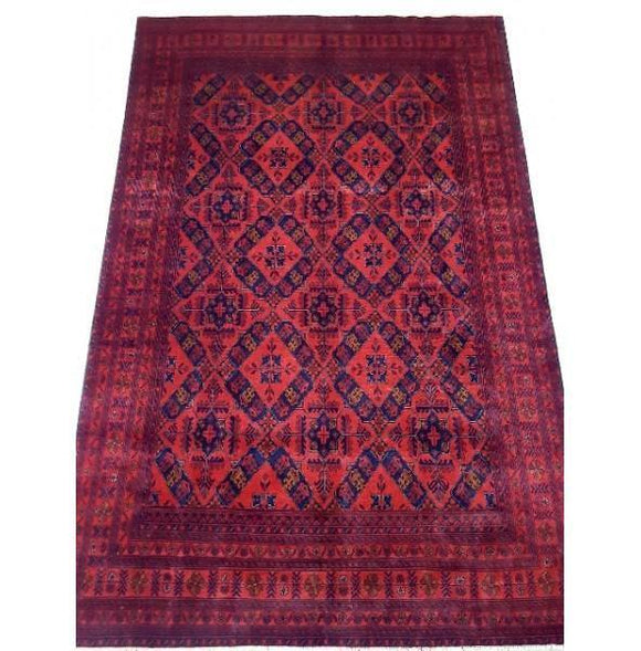 Stunning 10x7 Authentic Hand-knotted Khal Momadi Rug - Pakistan