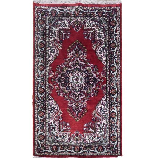 3x5 Kashmir Artificial Silk Jammu Rug - India - bestrugplace
