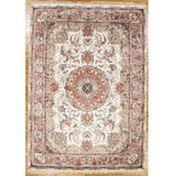 10x14 Authentic Hand-Knotted Artificial Silk Aubusson Rug - China