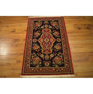 Fascinating 3x4 Authentic Hand-Knotted Rug