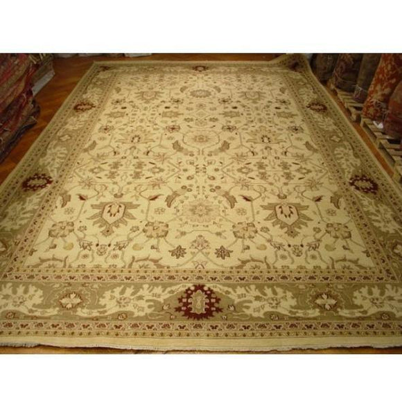 12x18 Authentic Handmade Agra Rug