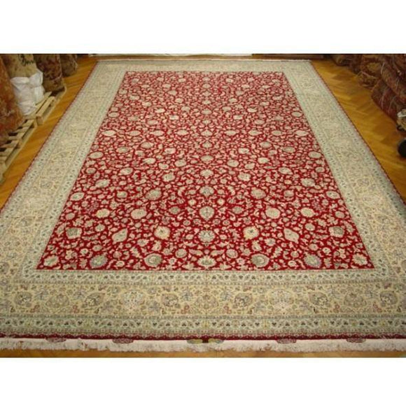 13x20 Authentic Handmade Tabriz Rug