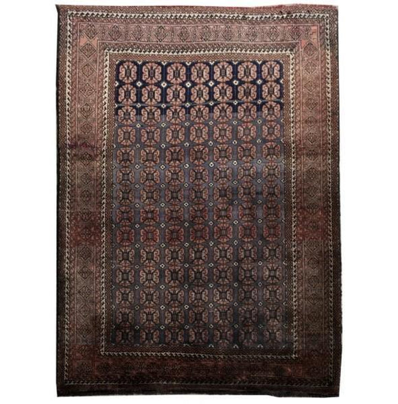 4x6 Authentic Hand-knotted Persian Baluch Rug - Iran