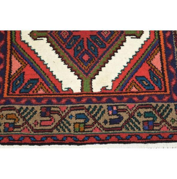 Fascinating 3x9 Authentic Hand-Knotted Rug