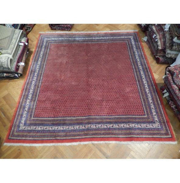 10x11 Authentic Hand Knotted Persian Mir Rug - Iran