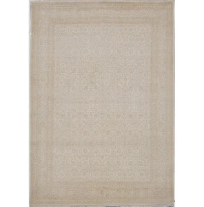Harooni Rugs - Dazzling 10x14 Authentic Hand Knotted Wool & Silk Fine 12/60 Quality Rug - India