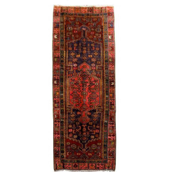 4x10 Authentic Hand Knotted Persian Ardebil Rug - Iran