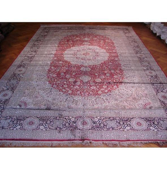 12x18 Authentic Handmade Art Silk Rug-China