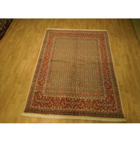 5x7 Authentic Hand Knotted Fine Quality Persian Mood Rug - Iran